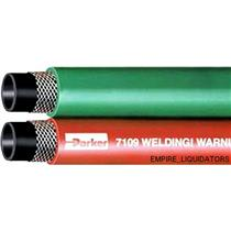 PALLET SHIP - 700' Parker Dayco Grade-T Red & Green Neoprine Twin Welding Hose
