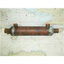 "Boaters Resale Shop of TX 1703 0722.07 SMALL COPPER HEAT EXCHANGER (12.25"")"