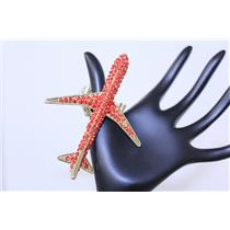 RING AIRPLANE W/RHINESTONE #QR1168RED