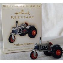 Hallmark Miniature Series Ornament 2006 Antique Tractors #10 - #QXM2143