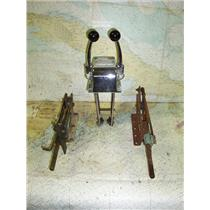 Boaters' Resale Shop of TX 1702 1474.24 MORSE DUAL LEVER ENGINE CONTROL PARTS