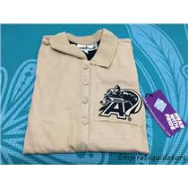 Brand New NCAA Army Medium Black Knights Women's Collar Scholar Polo Shirt -A