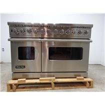Viking VDSC5488BSS Professional Pro-Style Dual-Fuel Range 48'' range stainless