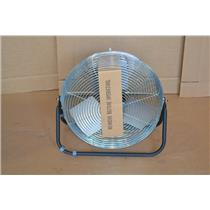 "TPI Corporation F18-TE Floor Fan, Single Phase, 120V, 18"", 3400 RPM, 3 Speed"