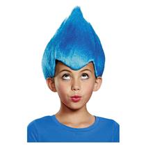 Disguise Blue Wacky Troll Thing Child Costume Wig
