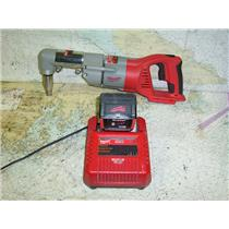"""Boaters' Resale Shop of TX 1704 1021.04 MILWAUKEE 0721-20 RIGHT ANGLE 1/2"""" DRILL"""