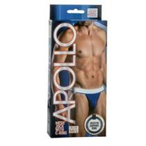 2 BRAND NEW Men's Apollo Mesh Jock With C-ring Blue Sizes M,L,XL