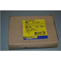 SQUARE D QO120CAFI ARC-FAULT, 20A, 1 POLE, NEW IN BOX