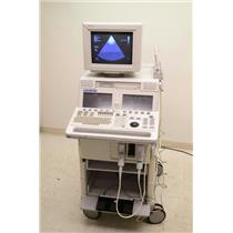 Agilent / HP Sonos 5500 M2424A Ultrasound System w/ Philips S4 & E6509 Probes