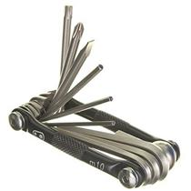 Crank Brothers Multi Bicycle Tool (10-Function) Black/Silver