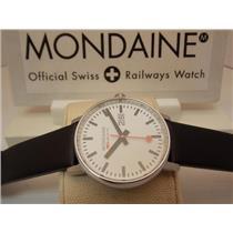 Mondaine Watch MSE.40210.LB EVO BIG.Swiss Movement,Sapphire Crystal,Easy Reader
