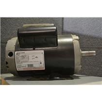 Century B813 5 HP Air Compressor Motor, 3450 RPM, 230V, 1Ph, Frame 56HZ