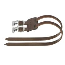 Brooks Twin Straps (Two Single or One Double) Brown Leather