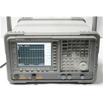 HP / Agilent E7401A 9 kHz to 1.5 GHz EMC / Spectrum Analyzer Options 1DR 1DS B72