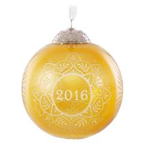 Hallmark Keepsake Series Ornament 2016 Commemorative Christmas #4 - #QX9124
