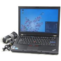 "Lenovo Thinkpad T410 14"" Core i7 2.67GHz 4GB 500GB Laptop Adapter WiFi Web Cam"