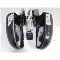 Power Folding Auto Flip Side Mirror 96-00 JDM Honda Civic EK 3 Door EK9 Black S