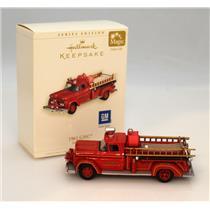 Hallmark Keepsake Ornament 2006 Fire Brigade #4 - 1961 GMC Fire Truck - #QX2326