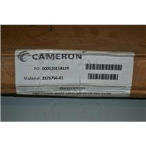 "Cameron 3"" C8FM Stainless Steel Butterfly Valve"