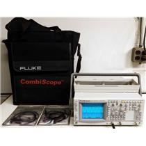 Fluke PM3380B 2CH 100MHz 10GS/s Repetitive 200MS/s Single Combiscope