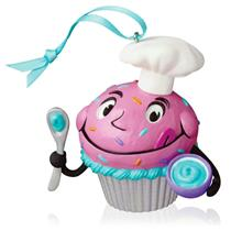 Hallmark Ornament 2016 Bakers Dozen - Keepsake Cupcakes Complement - #QHA1048