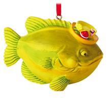 Hallmark Direct Imports Ornament 2016 Fish with Fishing Hat - #HGO1150