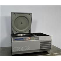 Jouan CR4-22 Benchtop Refrigerated Centrifuge w/ Swing Bucket Rotor 4500 RPM -5C