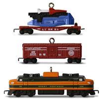 Hallmark 2016 Miniature Ornaments Lionel 2533W Great Northern Freight QXM8504-DB