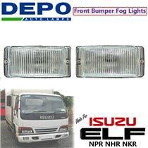 1 Set L+R Front Bumper Driving Fog Light Lamp Fit Isuzu Elf NPR NHR NKR 97-03