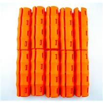 12 ORANGE SNAPPY GRIP -Bucket Handles -Mining-Gold Prospecting-Gardening
