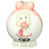 Precious Moments Ornament 2016 Wishing You A Beautiful Christmas - #161003