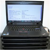 "LOT 4 Lenovo ThinkPad L512 15.6"" Intel Core i5 2.4Ghz Laptop Notebook"