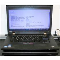 "LOT 2 Lenovo ThinkPad L520 15.6"" Intel Core i5 2520M 2.5Ghz Laptop Notebook"