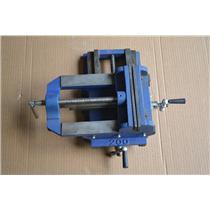 Westward Drill Press Vise, Cross Slide, Stnry, 8 In, 10D734
