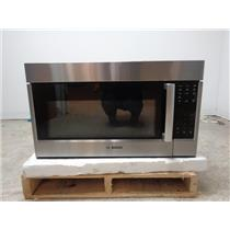 """BOSCH 30"""" 2.1 cu. ft. 10 Power Levels Over-the-Range Microwave Oven HMV5052UC Im"""