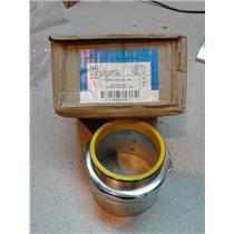 """Cooper 1457 EMT Set Screw Connector, 3"""", Insulated, Steel"""