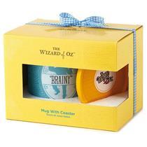 Hallmark Exclusive Wizard of Oz 2016 Brainy Mug with Coaster Set - #WOZ1064