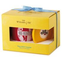 Hallmark Exclusive Wizard of Oz 2016 Big Hearted Mug with Coaster Set - #WOZ1065