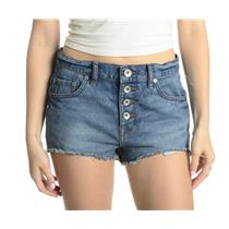 28 New Free People Rugged Ripped Haynes Denim Cutoff Button Fly Cotton Shorts