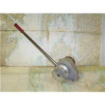 "Boaters' Resale Shop of TX 1706 0554.01 VETUS MANUAL ROPE & 3/8"" CHAIN WINDLASS"