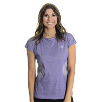 NWT L EleVen By Venus Williams Asana Cap Sleeve Cutout Back Tennis Top in Purple