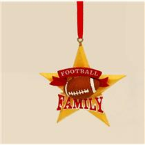 Hallmark Direct Imports Ornament 2015 Fantasy Family - Football on Star #DIR1922