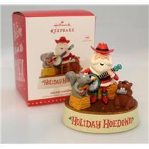 Hallmark Magic Ornament 2015 Holiday Hoedown - Santa and Friends - #QGO1337-DBNM