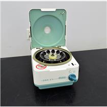 Hettich EBA 21 Centrifuge 1004-1 Benchtop w/ Rotor Clinical Lab Office 12x 15g