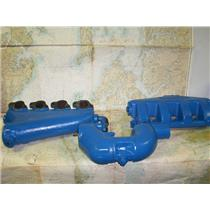 Boaters' Resale Shop of TX 1707 0144.01 CRUSADER V8 MANIFOLD KIT (REFURBISHED)