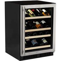 Marvel ML24WSG1RS 24 Inch 27-Bottle Capacity Built-in Glass Door Wine Storage