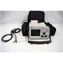 Zoll E-Series Monitor w/ Carrying Case & Printer S/N: AB08B006601