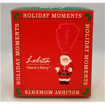Lolita Santa Barbara Holiday Ornament Collection - Santa's Party - #ORN8-5512G