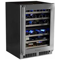 Marvel Professional Series MP24WDG4RS 24 Inch Built-in Dual Zone Wine Cooler