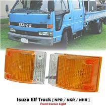 1 Pair Turn Signal Corner Light Lamp For Isuzu Elf Truck NPR NKR NHR 1985-93